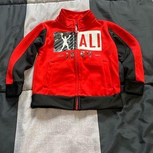Baby boys Ali  zip up sweater